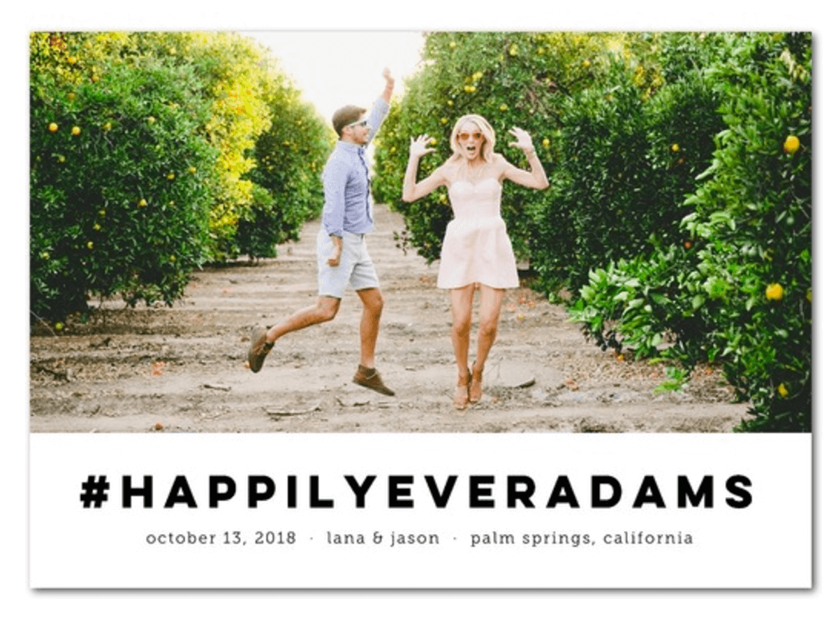 Wedding Hashtags Save The Date