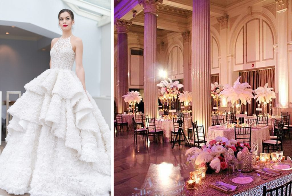 Finding The Perfect Wedding Dress To Match Your Venue Style ...