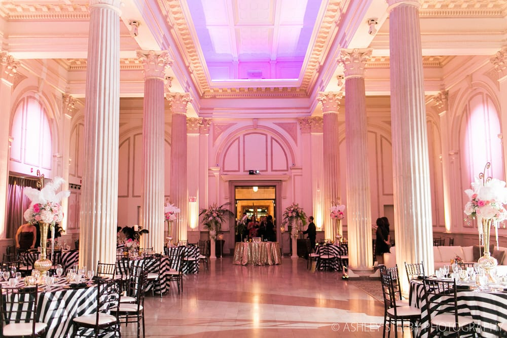 Hollywood Glam Wedding at The Treasury