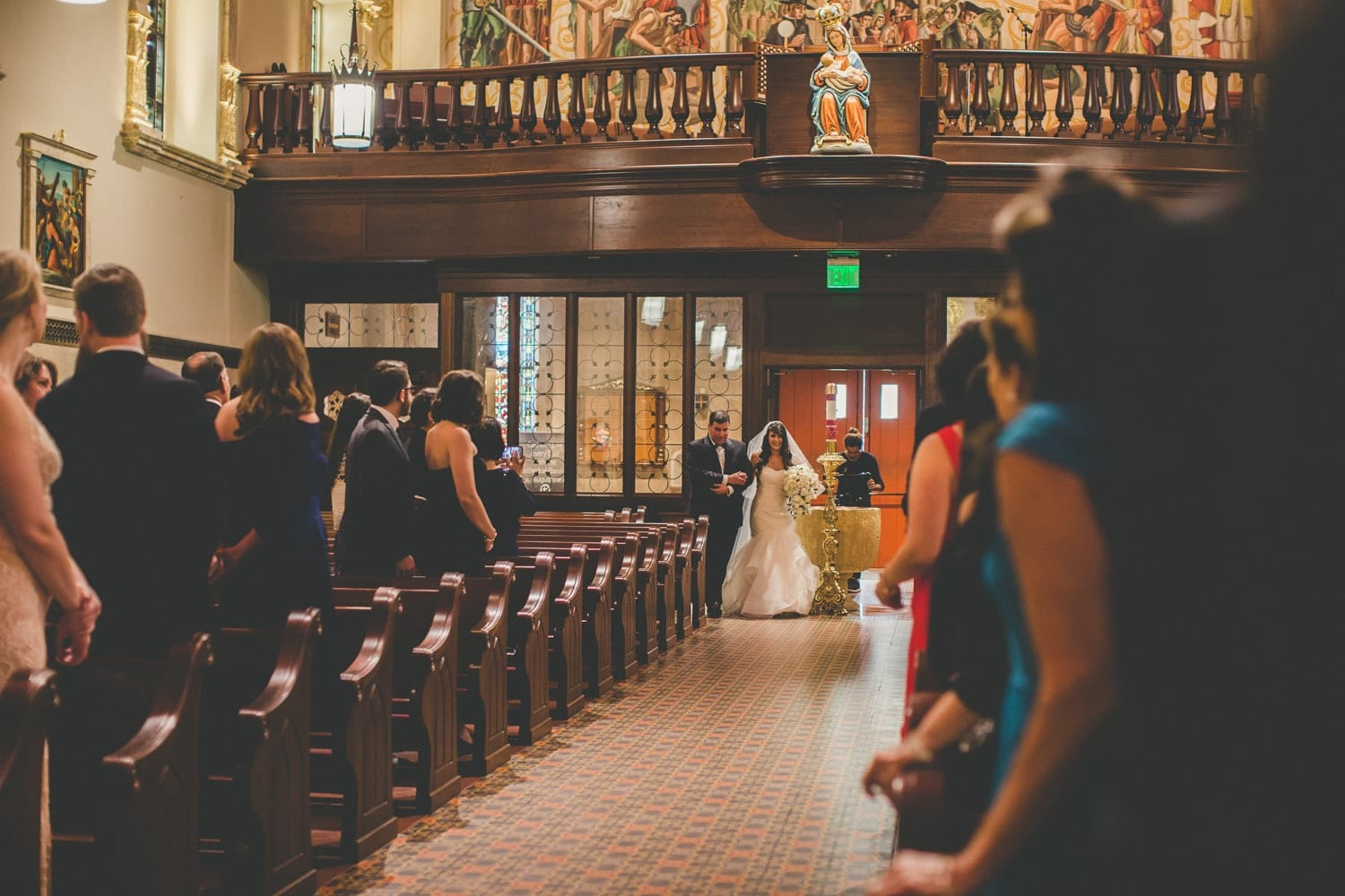 Wedding Ceremony | Modern St. Augustine Wedding at The Treasury on The Plaza