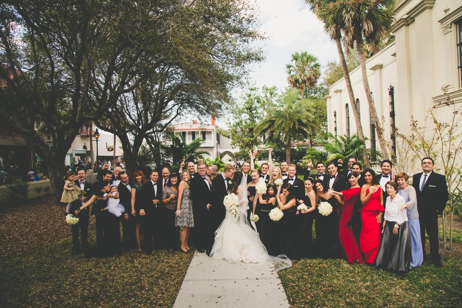 Wedding Guests | Modern St. Augustine Wedding at The Treasury on The Plaza