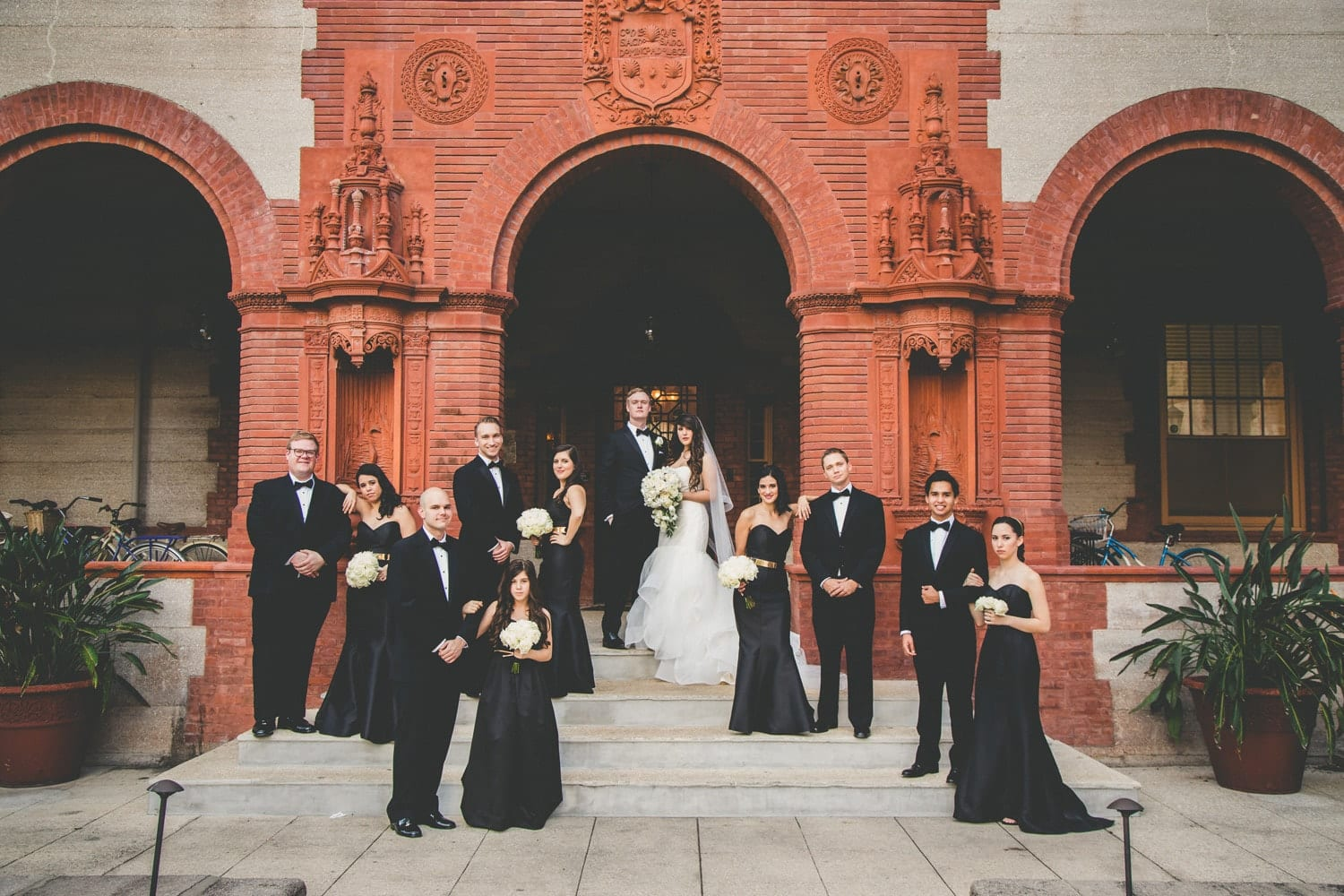 Wedding Party | Modern St. Augustine Wedding at The Treasury on The Plaza