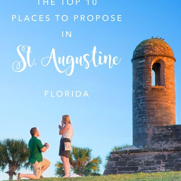 Our Top 10 St. Augustine Proposal Ideas Featured Image
