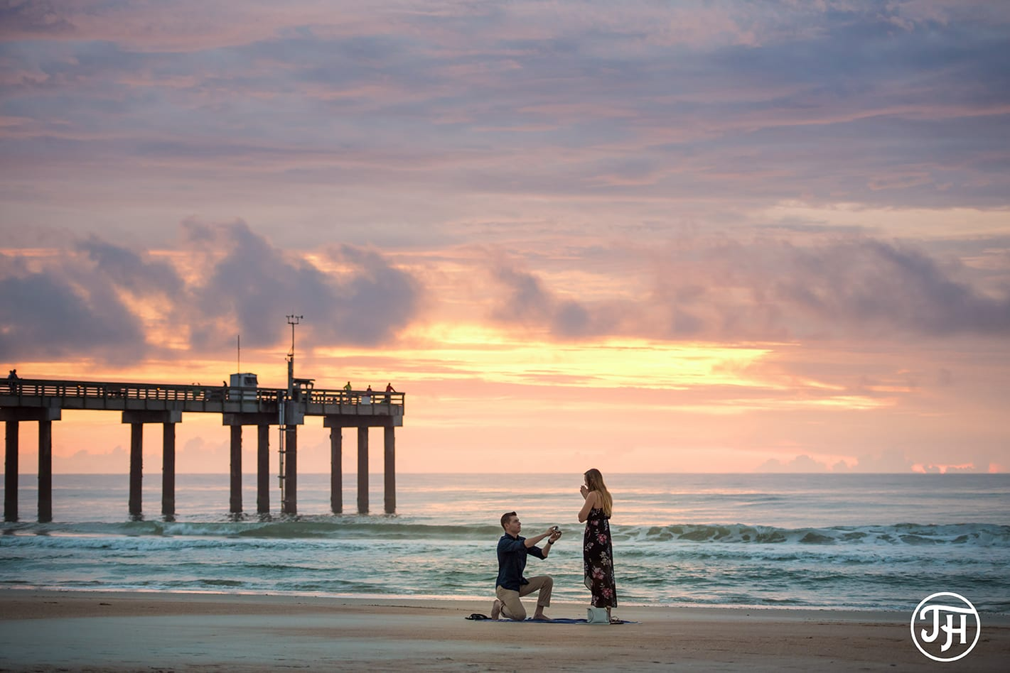 St. Augustine beach proposal | St. Augustine proposal ideas | Treasury on the Plaza