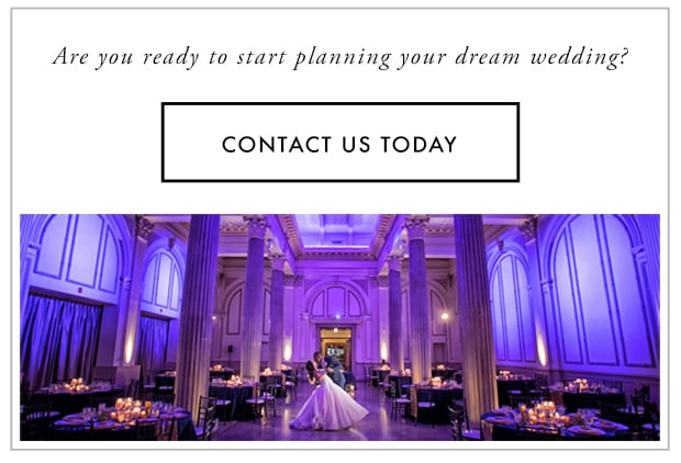 Contact The Treasury on The Plaza to plan your dream wedding