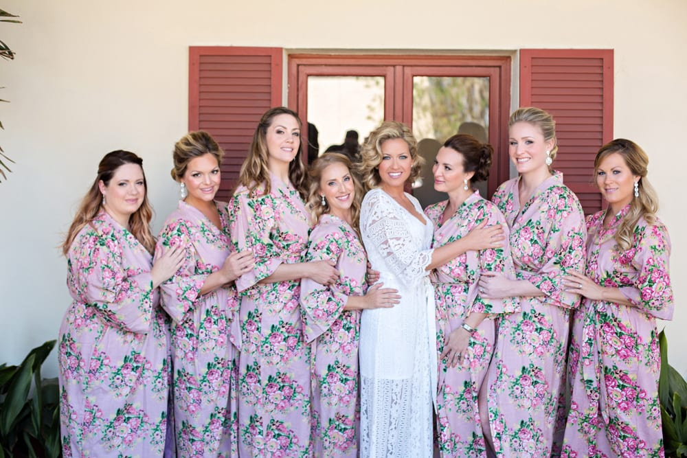 Bridal Party | A Romantic Modern Wedding At The Treasury on the Plaza, St. Augustine