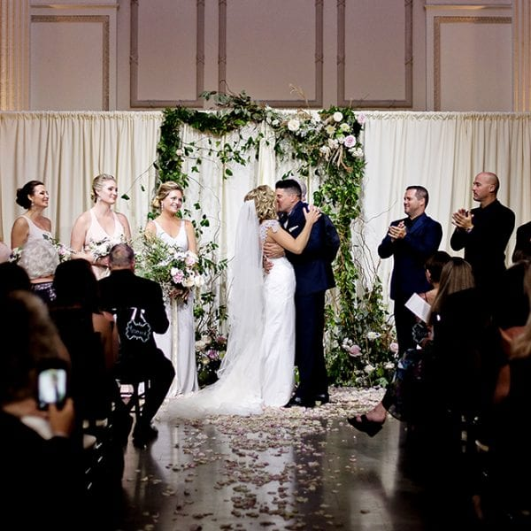 Gemma + Brett | A Romantic Modern Wedding at The Treasury on the Plaza Featured Image