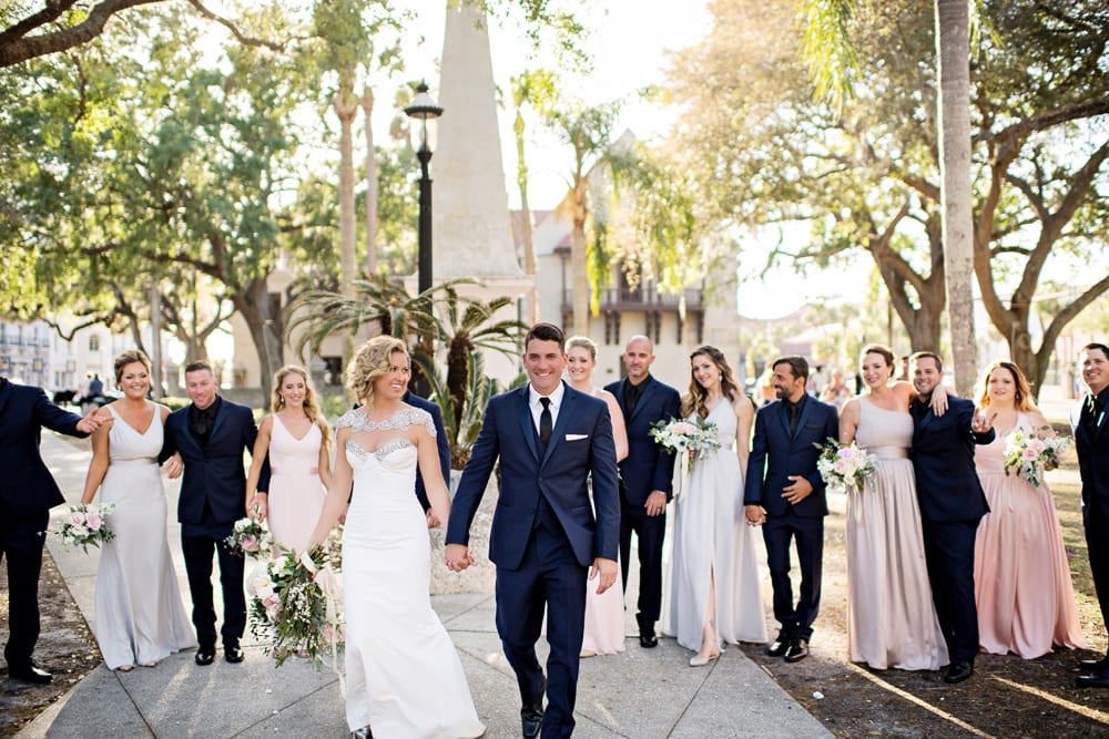 Wedding Photos | A Romantic Modern Wedding At The Treasury on the Plaza, St. Augustine