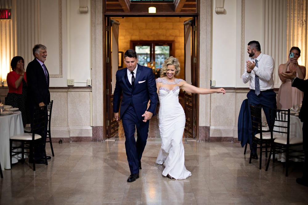 Reception Entrance | A Romantic Modern Wedding At The Treasury on the Plaza, St. Augustine
