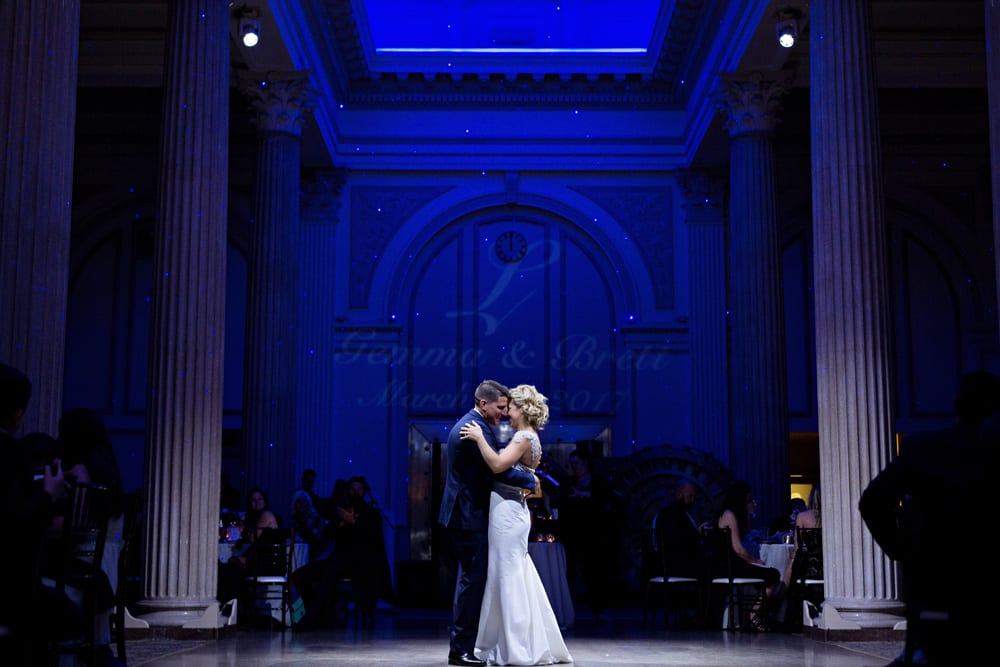First Dance | A Romantic Modern Wedding At The Treasury on the Plaza, St. Augustine
