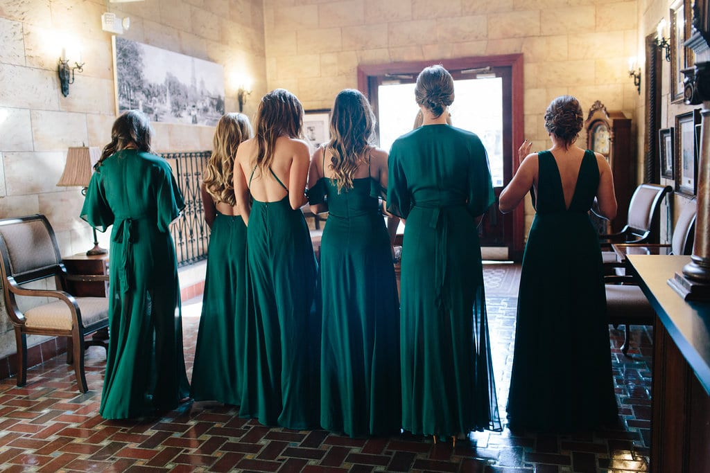 Bridesmaid First Look | Vault Wedding in St. Augustine, Florida | Treasury Blog