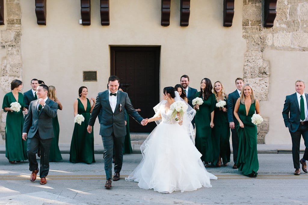 Wedding Party | Vault Wedding in St. Augustine, Florida | Treasury Blog