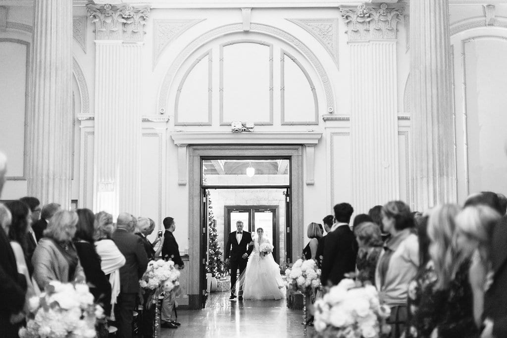Treasury on the Plaza wedding ceremony| Vault Wedding in St. Augustine, Florida | Treasury Blog