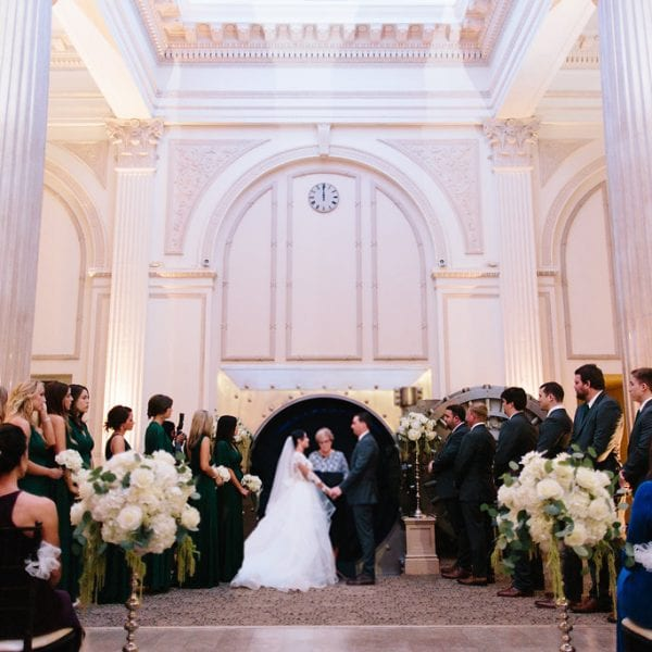 Taylor + Jon | Treasury Wedding in Front of the Vault | St. Augustine, FL Featured Image