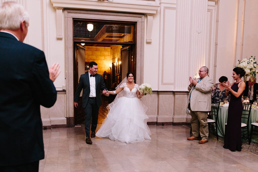 Grand entrance | Vault Wedding in St. Augustine, Florida | Treasury Blog