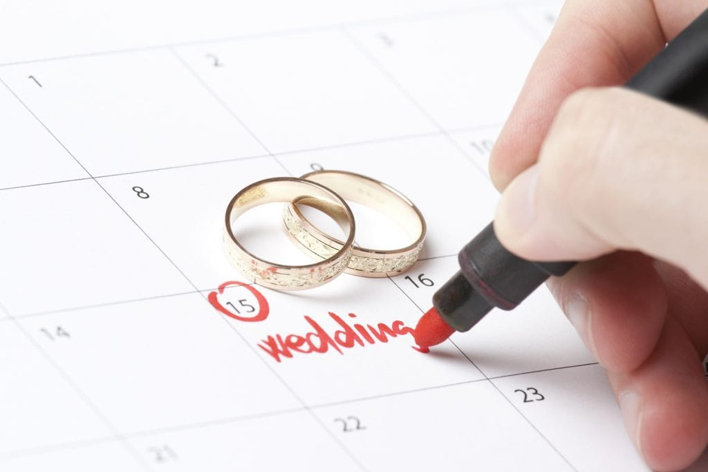 Be flexible with your wedding date | Wedding Cost Saving Tips From The Treasury on the Plaza