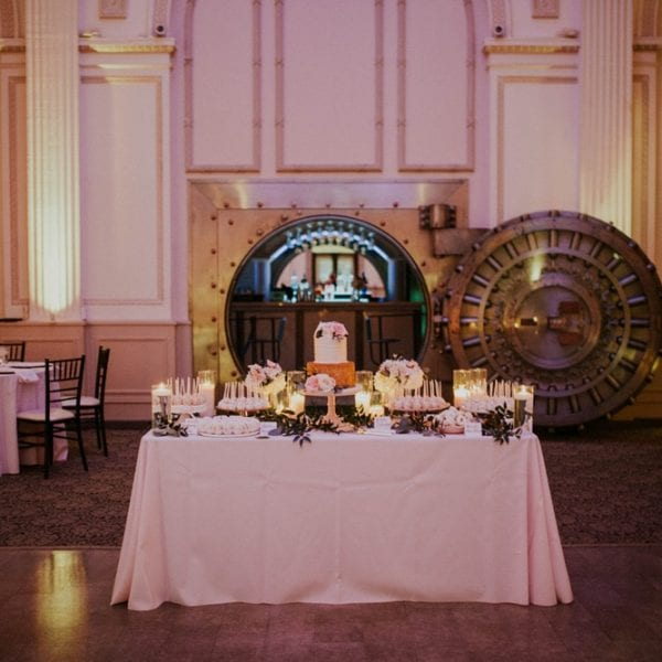 Wedding Decor | St. Augustine Wedding Venue | The Treasury on the Plaza