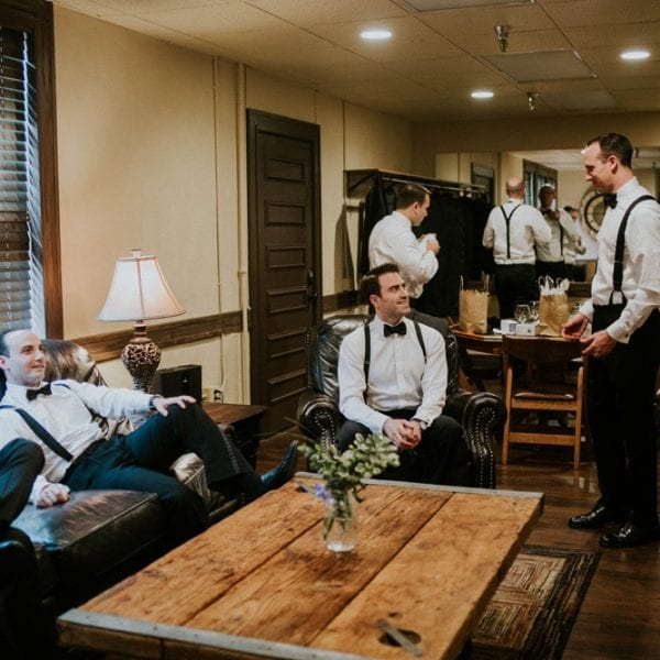 Grooms Suite | St. Augustine Wedding Venue | The Treasury on the Plaza