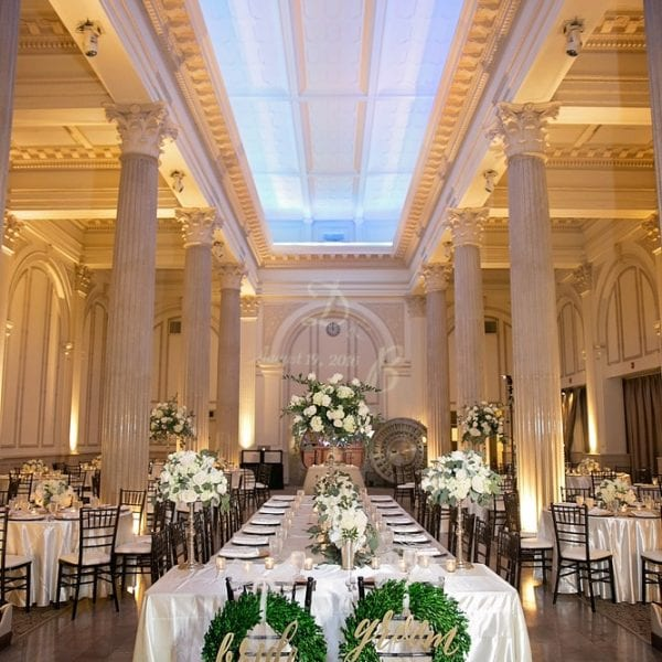Wedding Reception | St. Augustine Wedding Venue | The Treasury on the Plaza