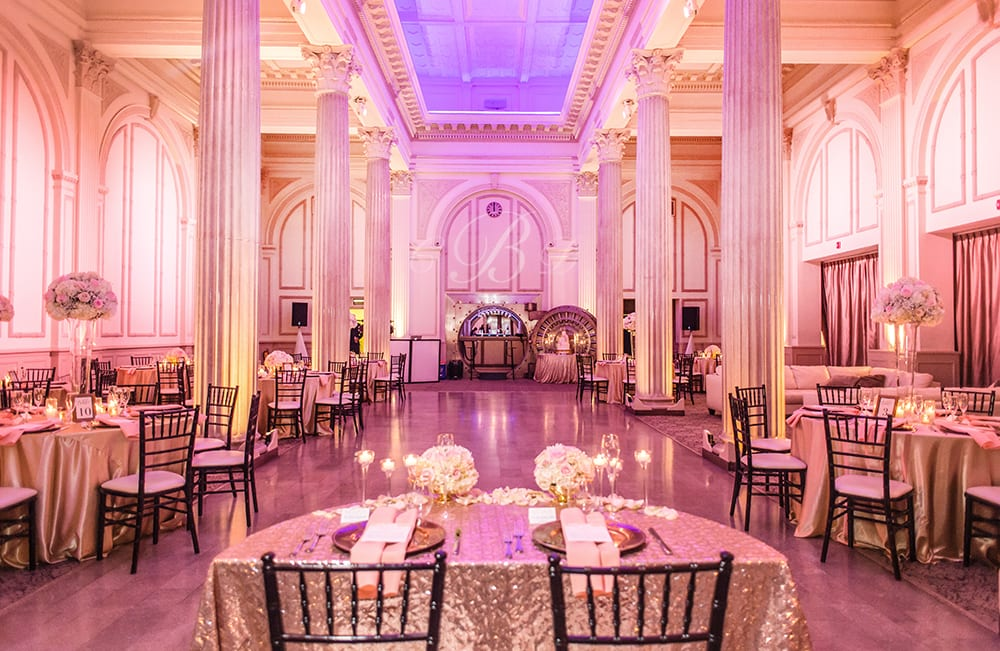 Wedding Reception | St. Augustine Wedding Venue | The Treasury on the Plaza | Photo by Leah Langley Photography