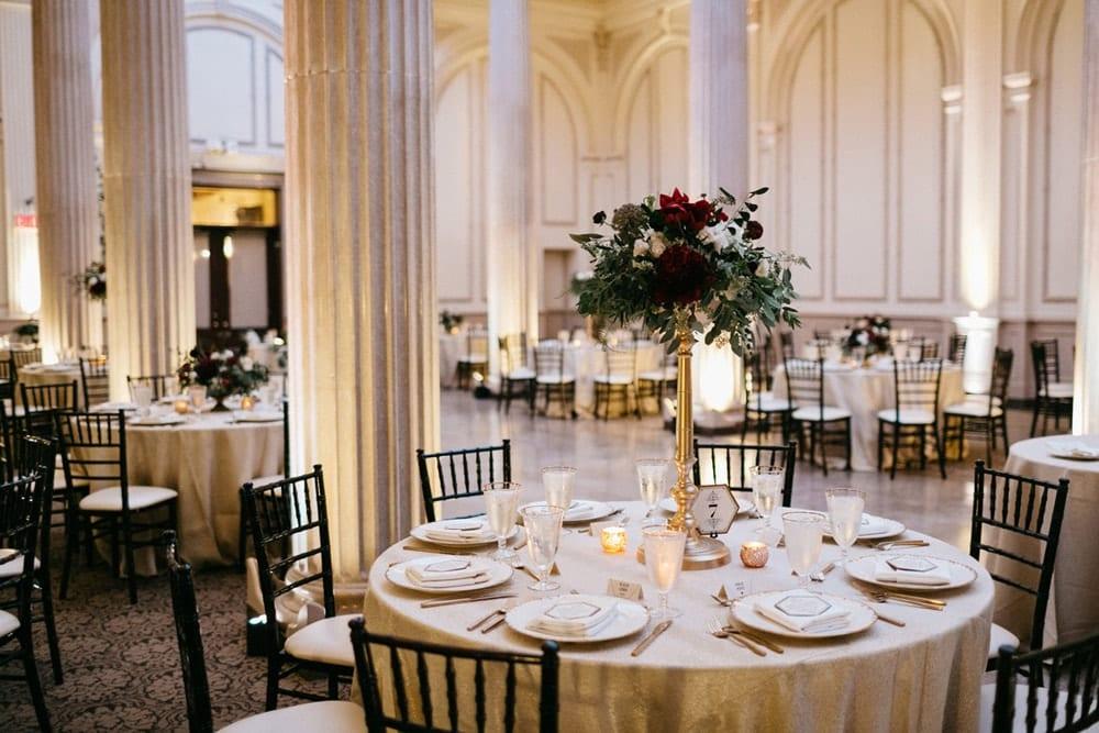 Wedding Reception | St. Augustine Wedding Venue | The Treasury on the Plaza