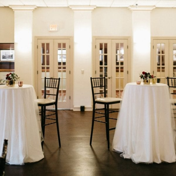 Exchange Gallery during cocktail hour | St. Augustine Wedding Venue | The Treasury on the Plaza