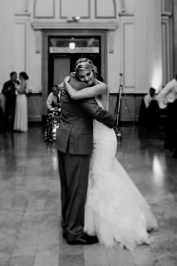 Father-Daughter Dance | Treasury on the Plaza Wedding Reception Venue