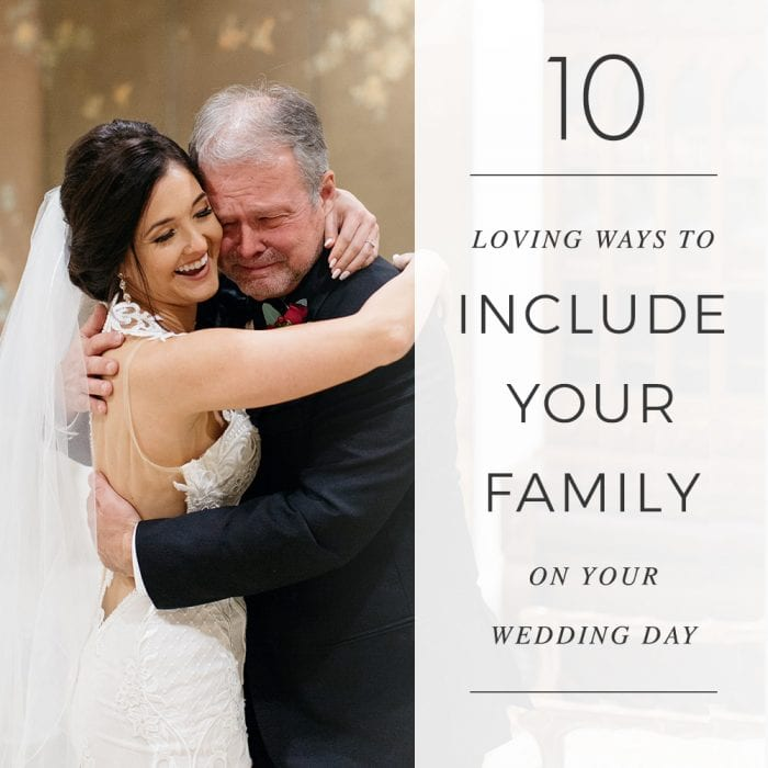 10 Loving Ways To Include Your Family on Wedding Day | Treasury on the Plaza | Wedding venue in St. Augustine, Florida