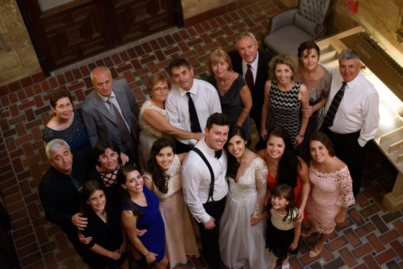 Including Your Family on Your Wedding Day | Treasury on the Plaza | Wedding venue in St. Augustine, Florida