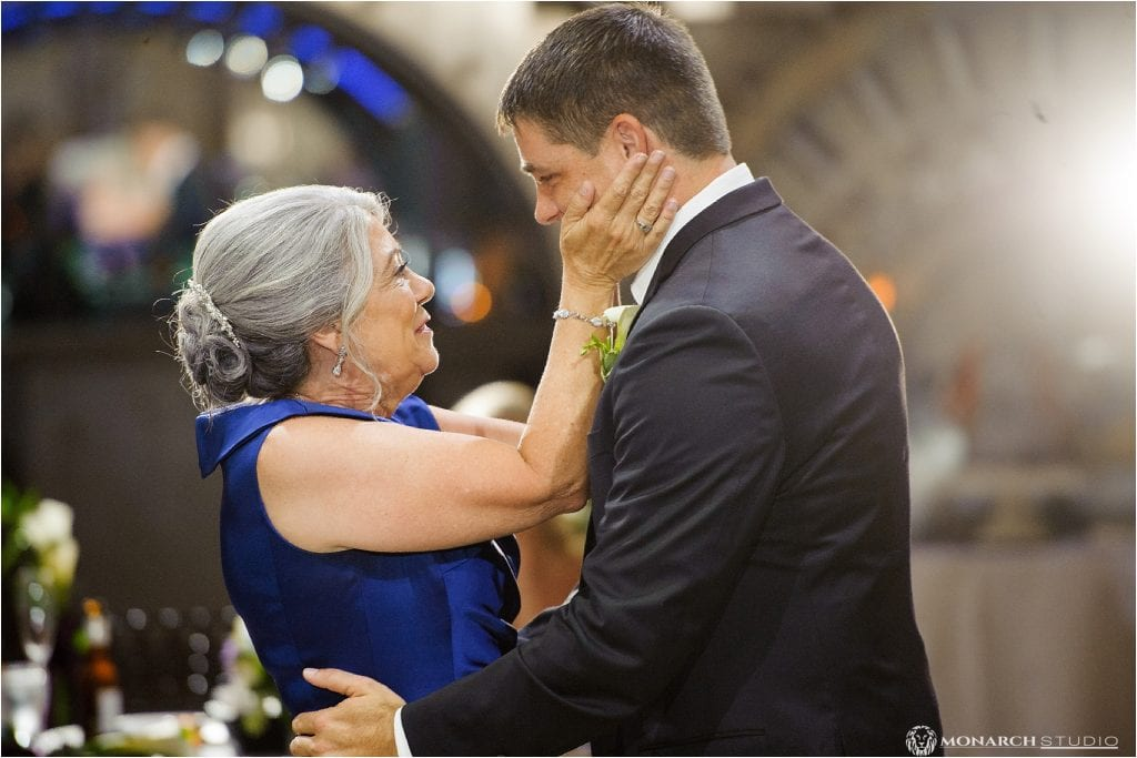 Mother-Son Dance | Treasury on the Plaza | Wedding Venue in St. Augustine Florida