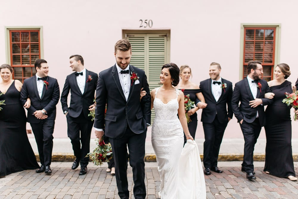 Kirsten + JC | Treasury on the Plaza Wedding Full of Surprises for Guests | St. Augustine Wedding Venue