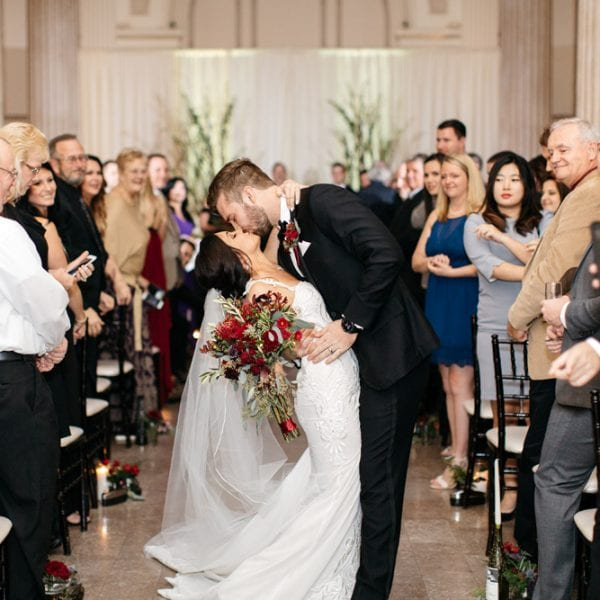 Kirsten + JC | Treasury on the Plaza Wedding Full of Surprises for Guests Featured Image