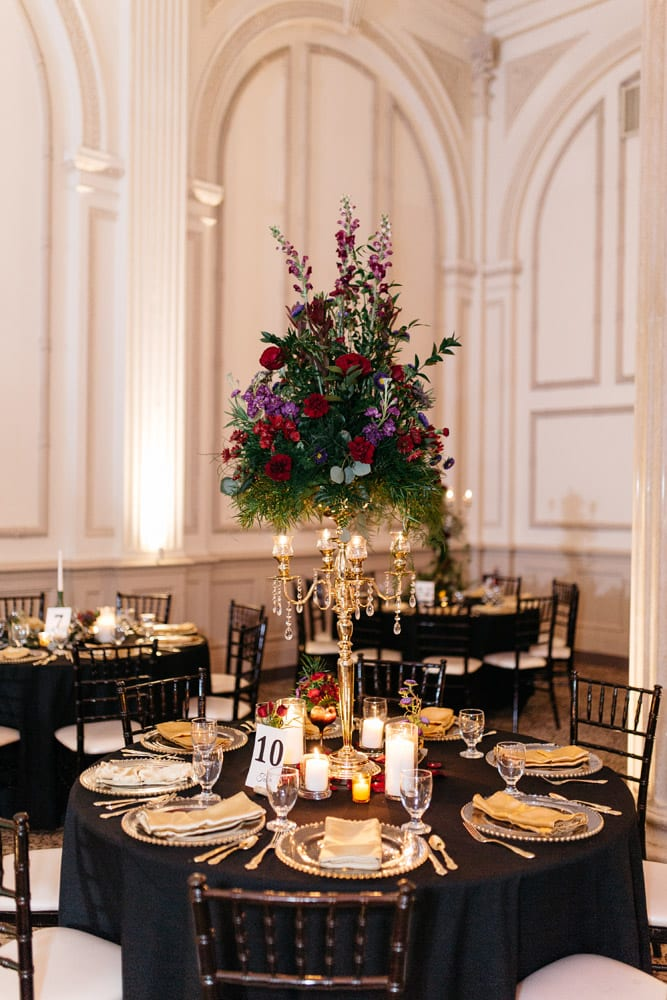 Reception Decor   Kirsten + JC   Treasury on the Plaza Wedding Full of Surprises for Guests   St. Augustine Wedding Venue
