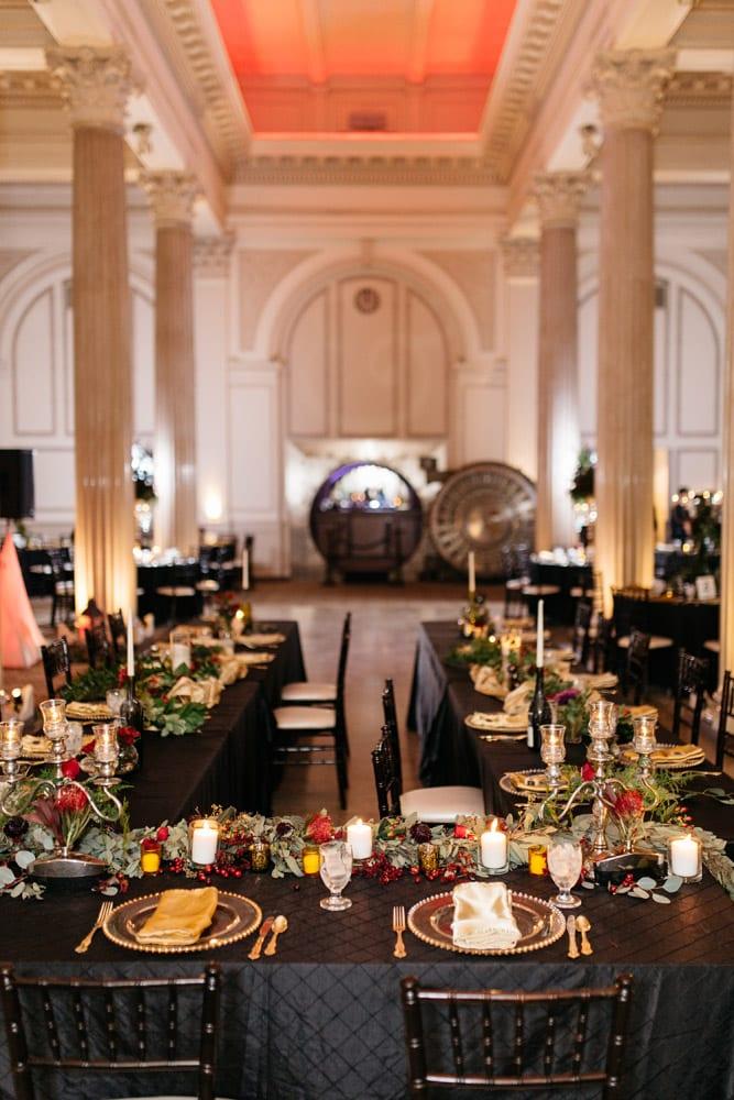 Reception Decor Kirsten Jc Treasury On The Plaza Wedding Full Of Surprises For