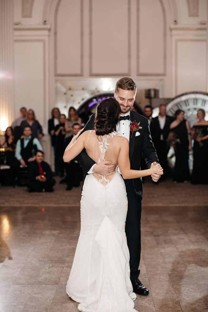 First Dance   Kirsten + JC   Treasury on the Plaza Wedding Full of Surprises for Guests   St. Augustine Wedding Venue