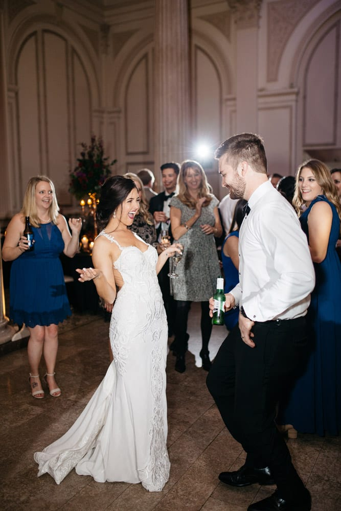 Reception Dancing | Kirsten + JC | Treasury on the Plaza Wedding Full of Surprises for Guests | St. Augustine Wedding Venue