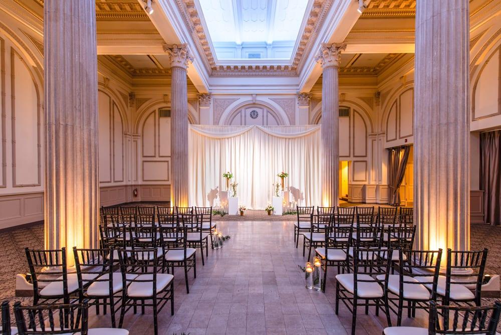 The Grande Ballroom | Wedding ceremony at The Treasury on the Plaza | St. Augustine, FL