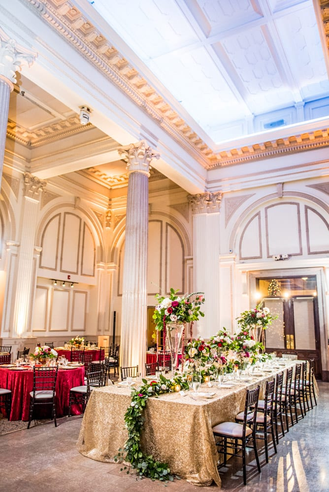 Wedding Ceremony to reception transformations | St. Augustine Wedding Venue | The Treasury on the Plaza