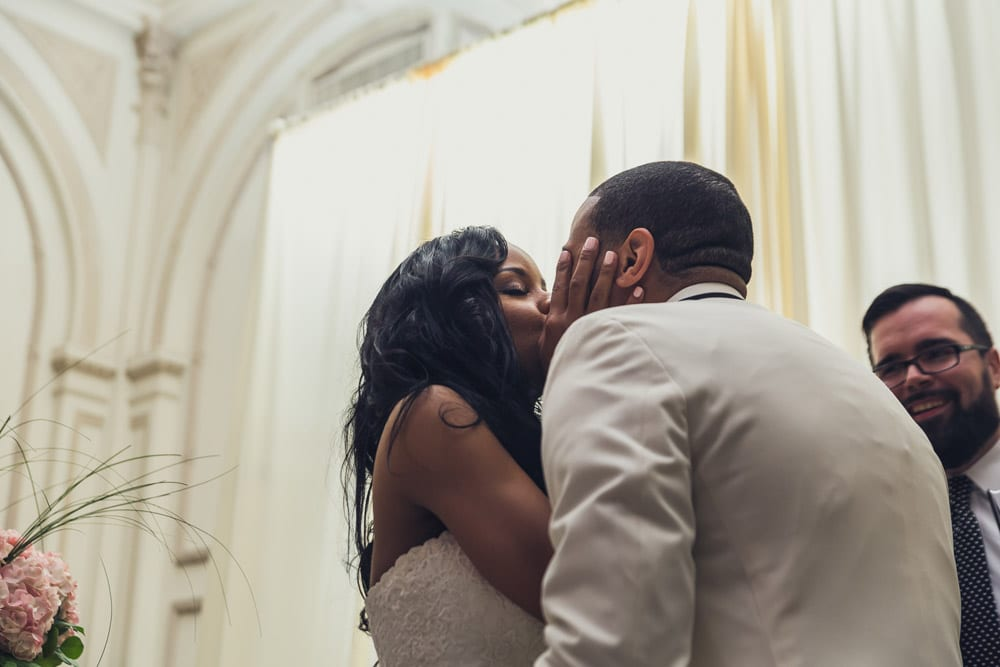 Wedding Ceremony | Tamisha + Jason | A Fun Elegant Wedding in St. Augustine | Treasury Blog