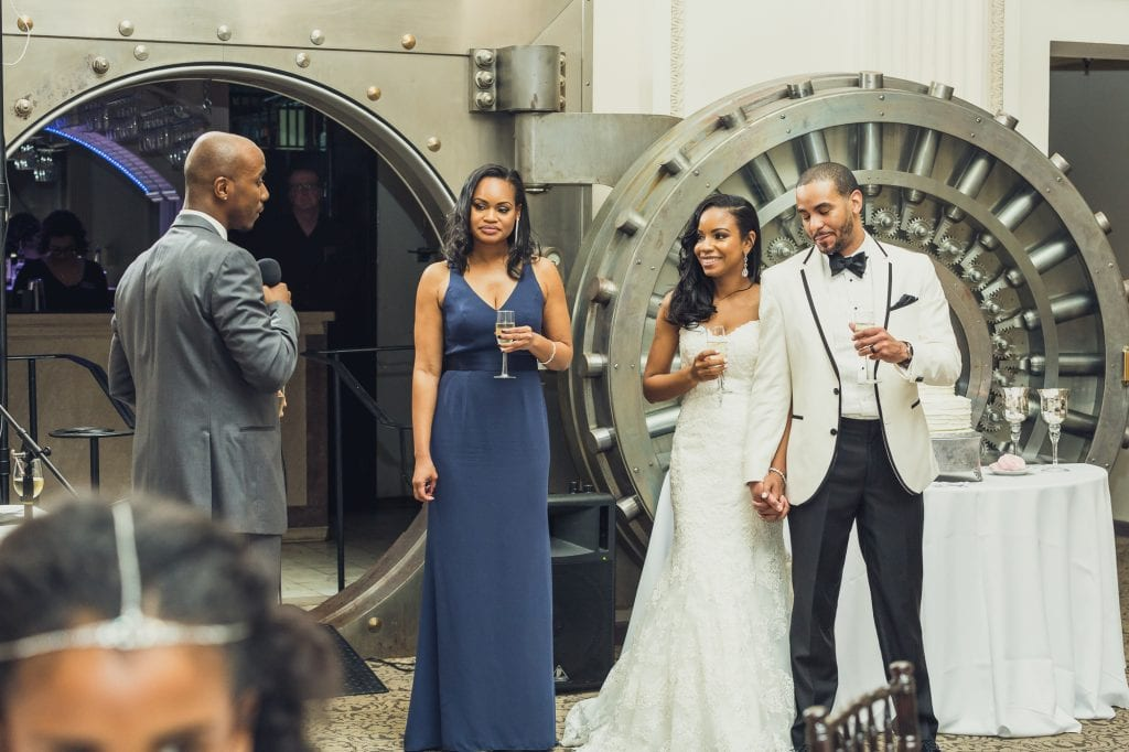 Wedding Reception | Tamisha + Jason | A Fun Elegant Wedding in St. Augustine | Treasury Blog