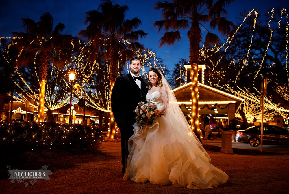 Nights of Lights Wedding | Special Holiday Events | St. Augustine, Florida | Best Destination Wedding Locations