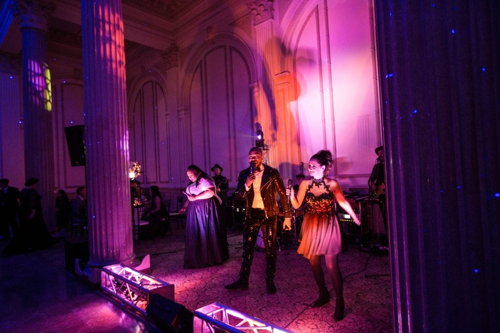 Wedding band at The Treasury on the Plaza | 6 Ideas For a Fun Wedding Reception