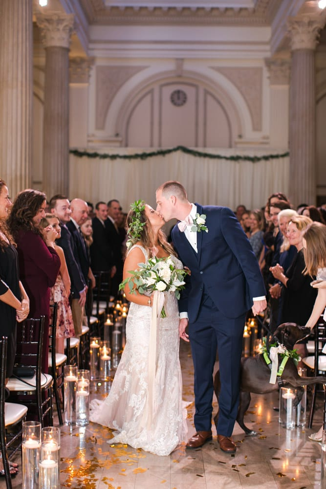Wedding Ceremony | Kara +Kyle | A Local St. Augustine Love Story at The Treasury on the Plaza