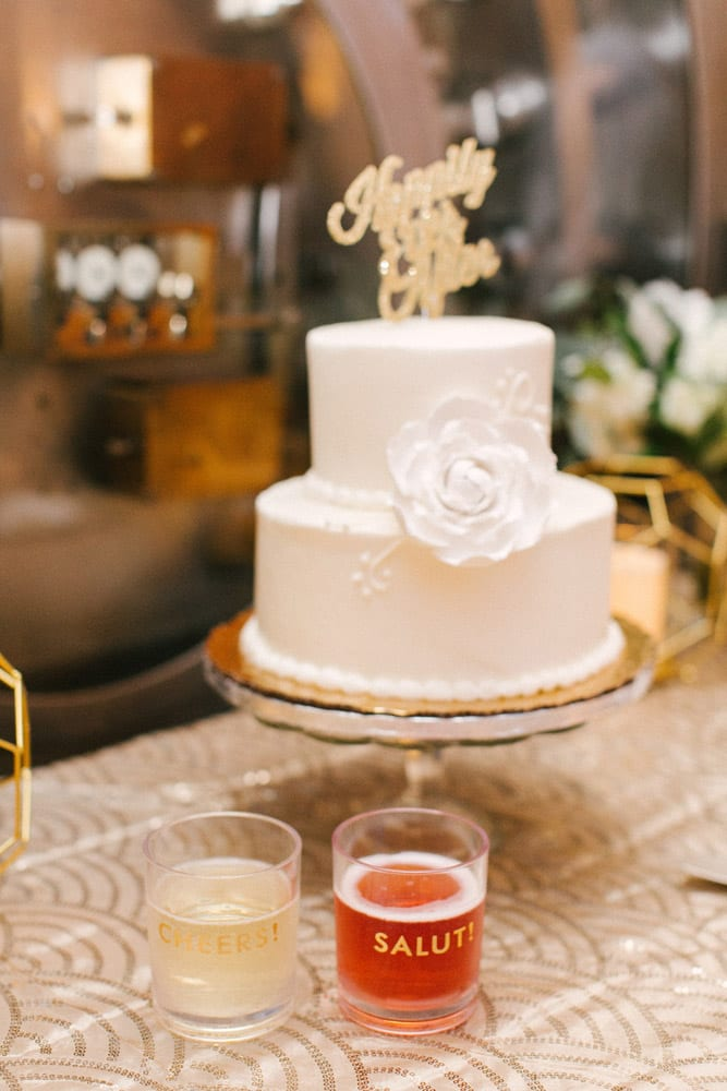 Wedding Cake | Kara +Kyle | A Local St. Augustine Love Story at The Treasury on the Plaza