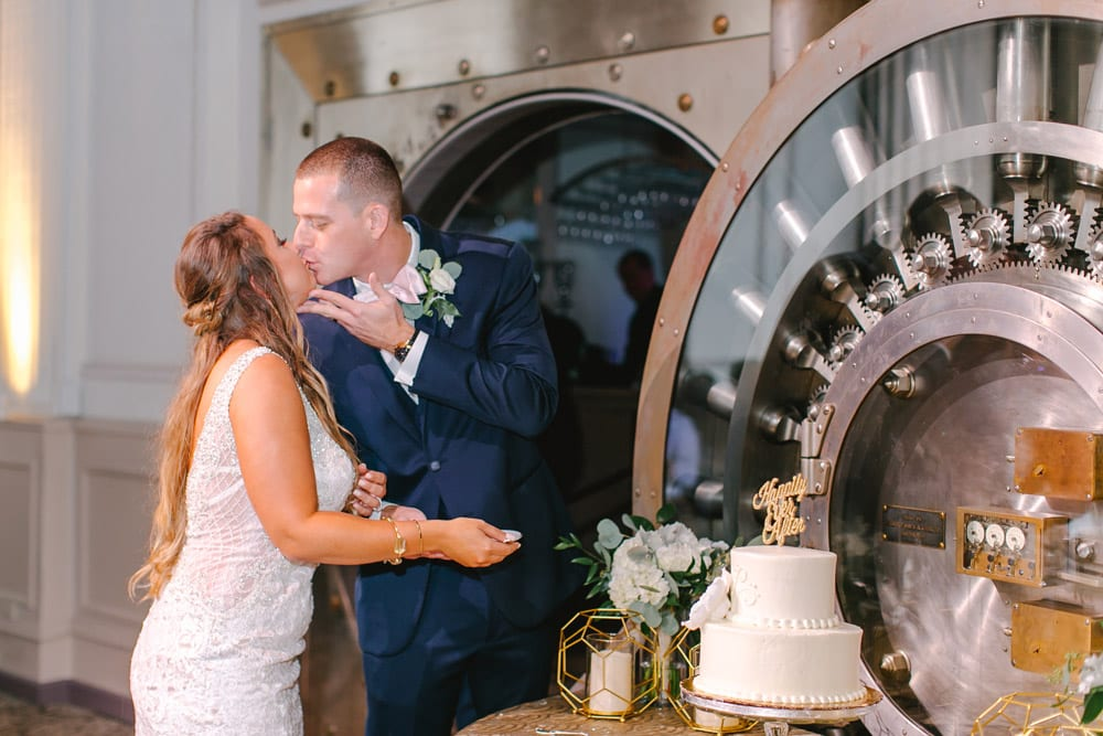 Wedding Reception | Kara +Kyle | A Local St. Augustine Love Story at The Treasury on the Plaza
