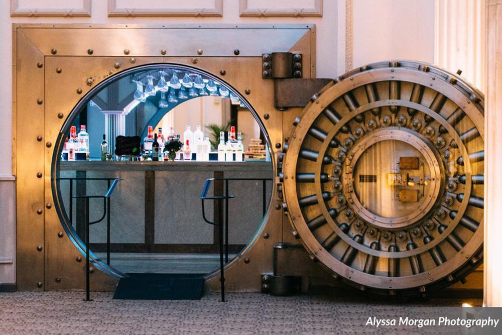 Vault Bar at The Treasury on the Plaza | 6 Ways to Make Your Wedding Reception More Fun