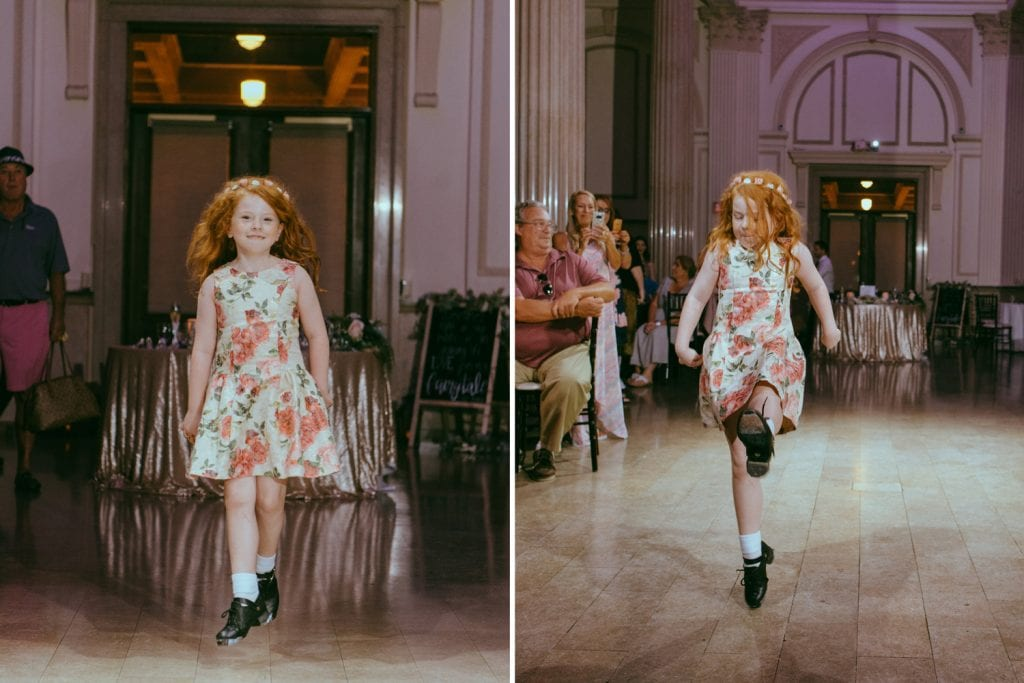 Irish Dancing at The Treasury on the Plaza | 6 Ways to Make Your Wedding Reception More Fun