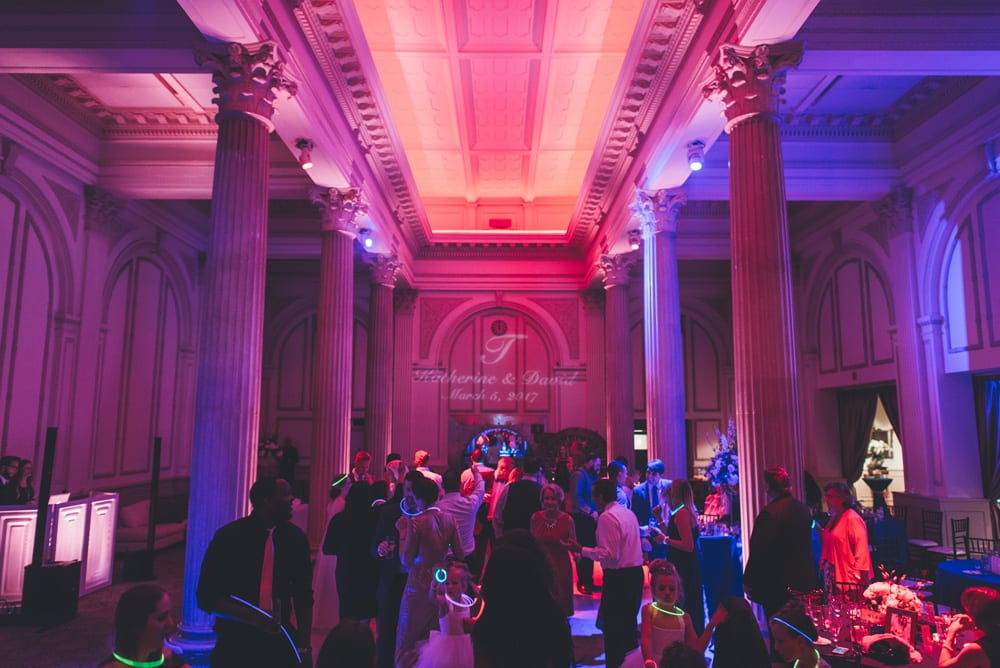 Hollywood Special Effects Package at The Treasury on the Plaza | 6 Ways to Make Your Wedding Reception More Fun