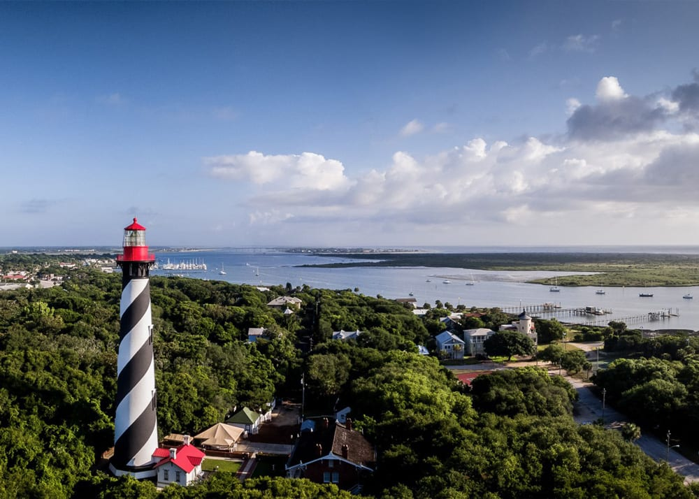 St. Augustine Lighthouse photo by Will Barnwell | Kara and Kyle's St. Augustine Love Story