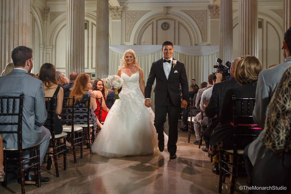Holly and Austin's Treasury on the Plaza Wedding Featured on Four Weddings